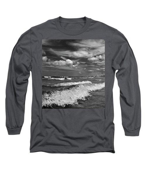 Cloud Sound Drama Long Sleeve T-Shirt