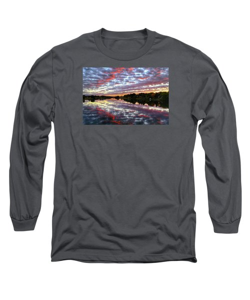 Long Sleeve T-Shirt featuring the photograph Clouds And More by Lynn Hopwood