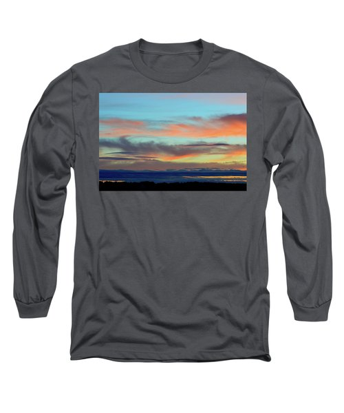 Clouds At Different Altitudes  Long Sleeve T-Shirt by Lyle Crump