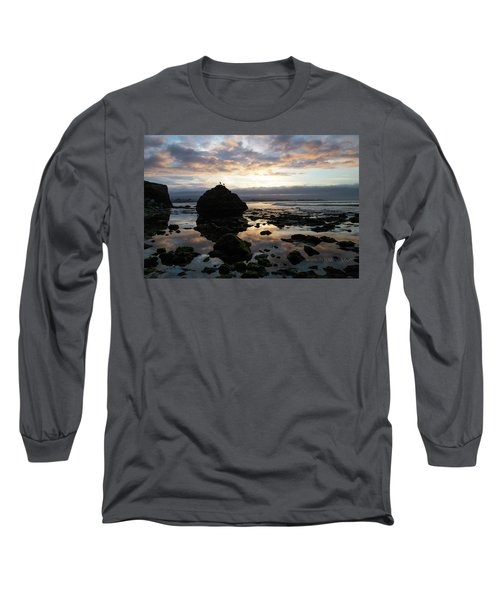Long Sleeve T-Shirt featuring the photograph Clouds In The Sea by Lora Lee Chapman