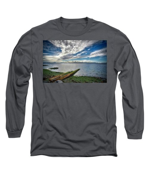 Clouds Over The Bay Long Sleeve T-Shirt