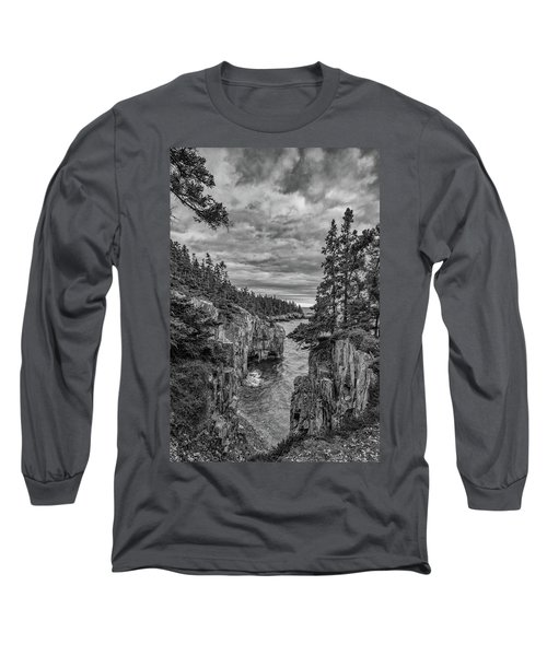 Clouds Over The Cliffs Long Sleeve T-Shirt