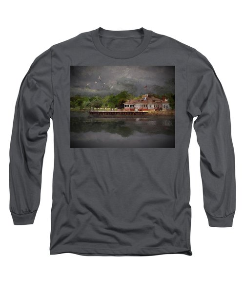 Clouds Over The Harbor Long Sleeve T-Shirt