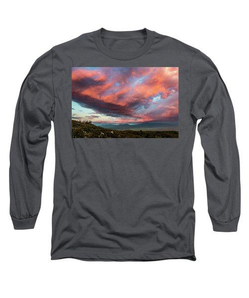 Clouds Over Warner Springs Long Sleeve T-Shirt