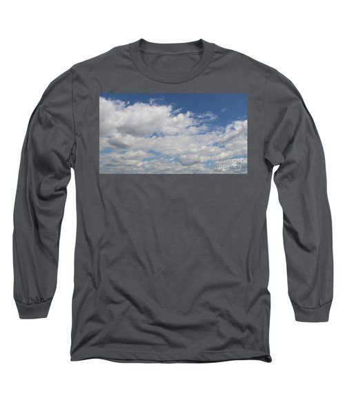 Clouds 17 Long Sleeve T-Shirt by Rod Ismay