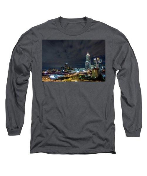 Cloudy City Long Sleeve T-Shirt
