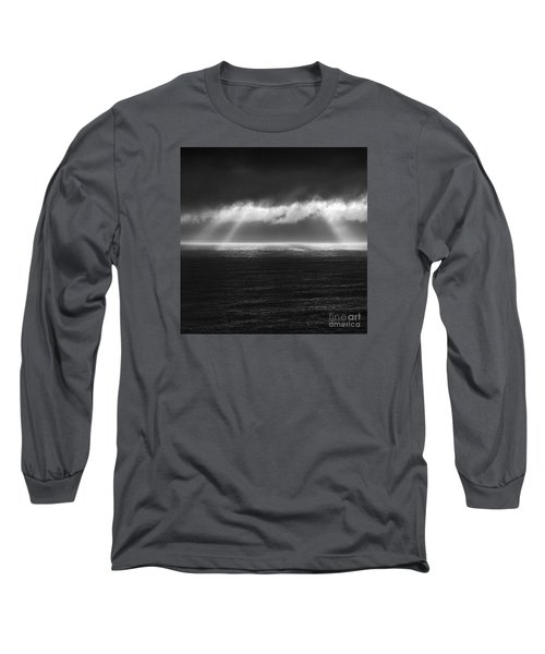 Cloudy Day At The Sae Long Sleeve T-Shirt