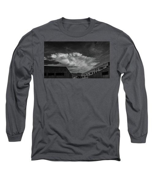 Cloudy Sky Over Bolzano Long Sleeve T-Shirt