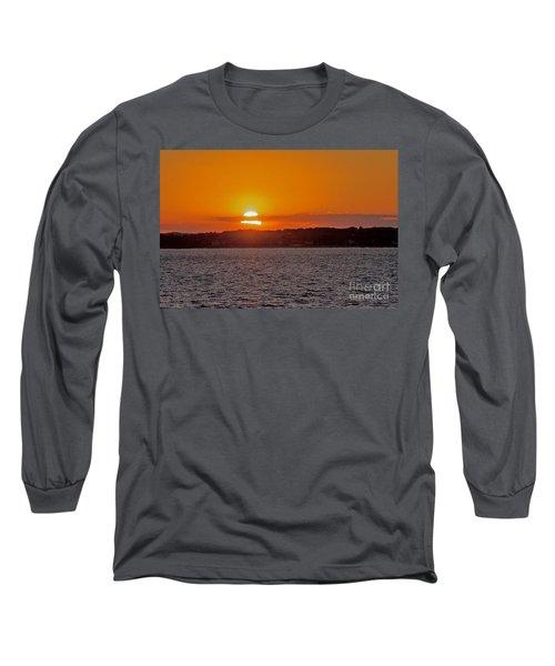Cloudy Sunset Long Sleeve T-Shirt