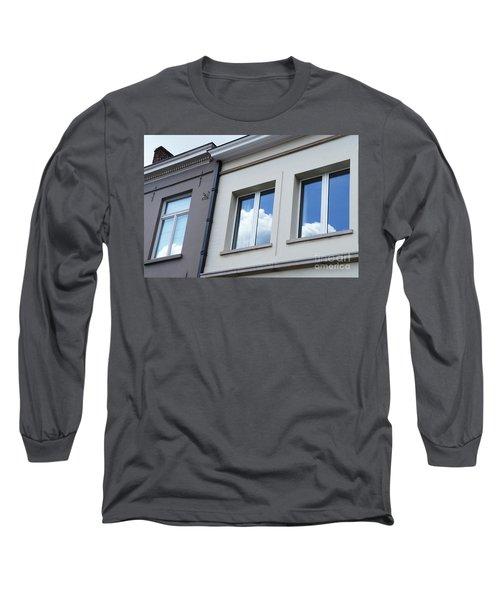 Cloudy Windows Long Sleeve T-Shirt