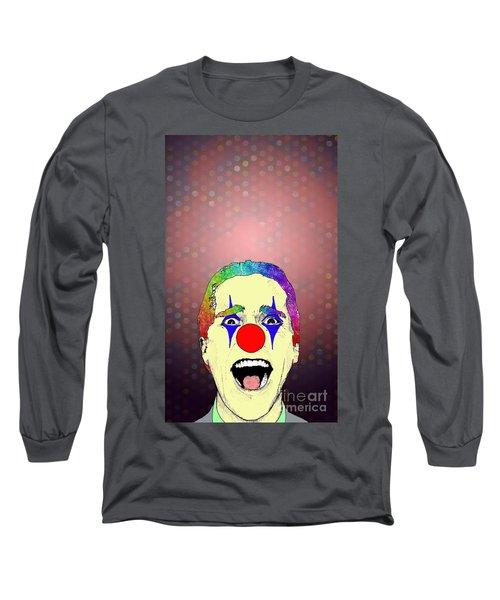 clown Christian Bale Long Sleeve T-Shirt