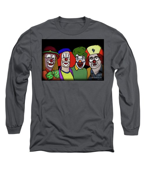 Clowns Long Sleeve T-Shirt