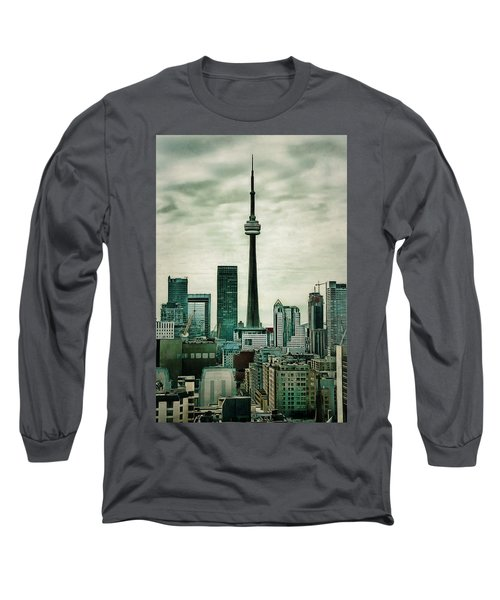 Cn Tower Long Sleeve T-Shirt