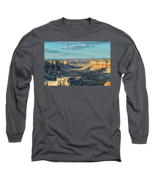 Coal Mine Canyon Long Sleeve T-Shirt by Tom Kelly