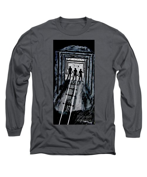Coal Miners At Work Long Sleeve T-Shirt