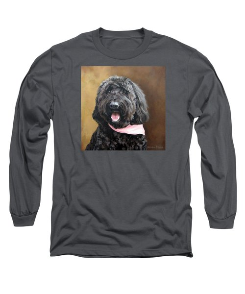 Coal Long Sleeve T-Shirt by Sandra Chase