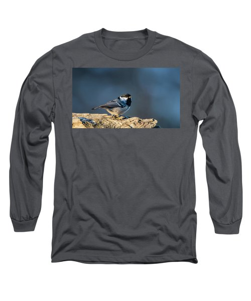 Long Sleeve T-Shirt featuring the photograph Coal Tit's Colors by Torbjorn Swenelius