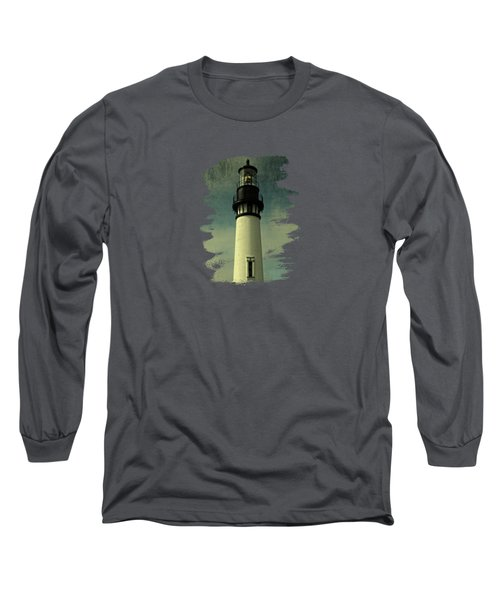 Coastal Breeze At Yaquina Head Long Sleeve T-Shirt