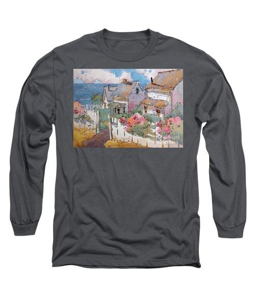 Coastal Cottages Long Sleeve T-Shirt