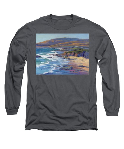 Coastal Cruising 8, San Simeon Long Sleeve T-Shirt