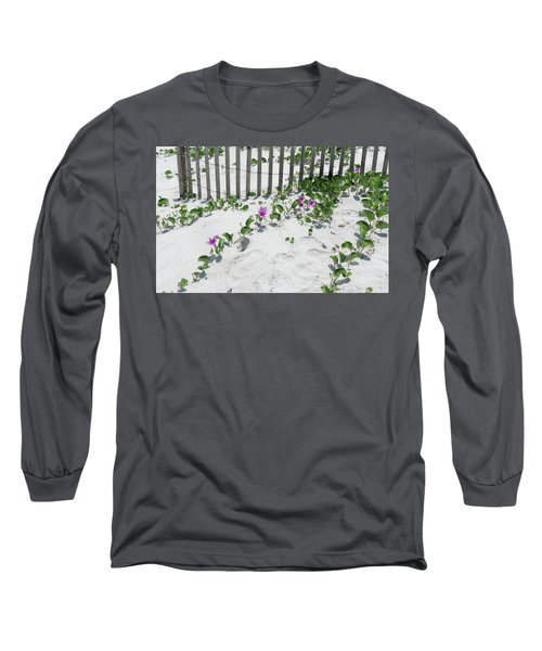 Coastal Flowers Long Sleeve T-Shirt