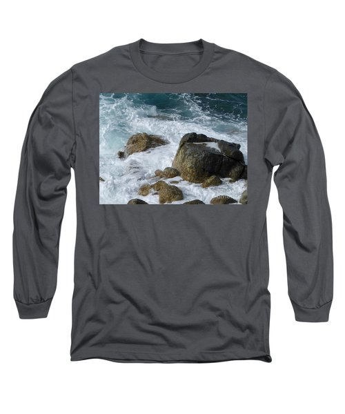 Coastal Rocks Trap Water Long Sleeve T-Shirt