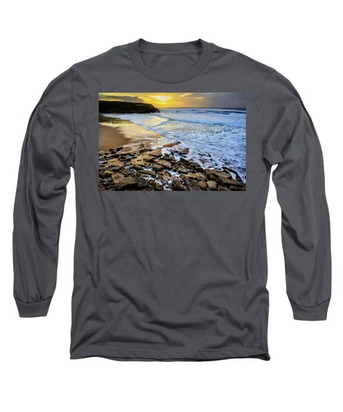 Long Sleeve T-Shirt featuring the photograph Coastal Sunset by Marion McCristall