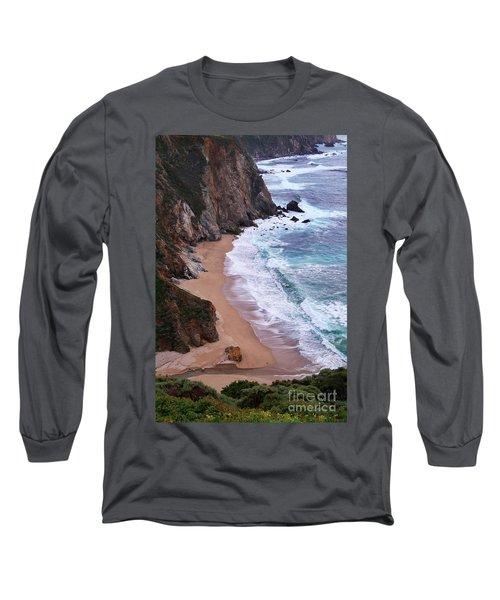 Coastal View At Big Sur Long Sleeve T-Shirt