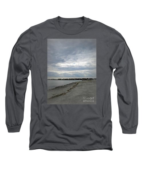 Coastal Winter Long Sleeve T-Shirt by Kristine Nora