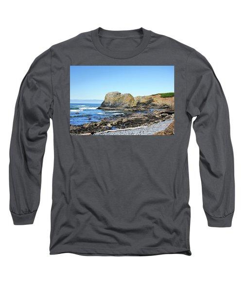Cobblestone Beach Long Sleeve T-Shirt