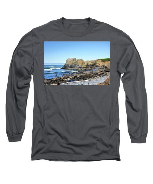 Cobblestone Beach Long Sleeve T-Shirt