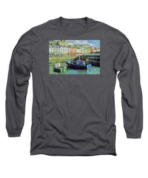 Long Sleeve T-Shirt featuring the photograph Cobh Harbour by Dennis Cox WorldViews