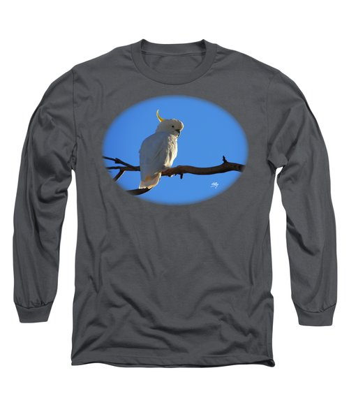 Cockatoo Long Sleeve T-Shirt by Linda Hollis