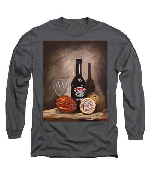 Cocoa Pods Coconut And Irish Cream Long Sleeve T-Shirt