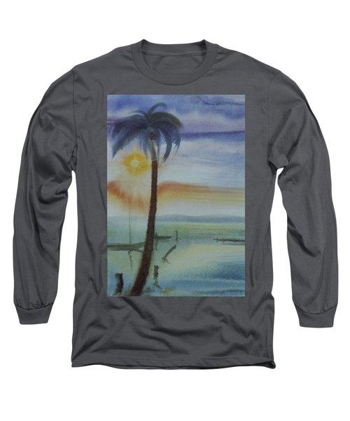 Coconut Palm Long Sleeve T-Shirt