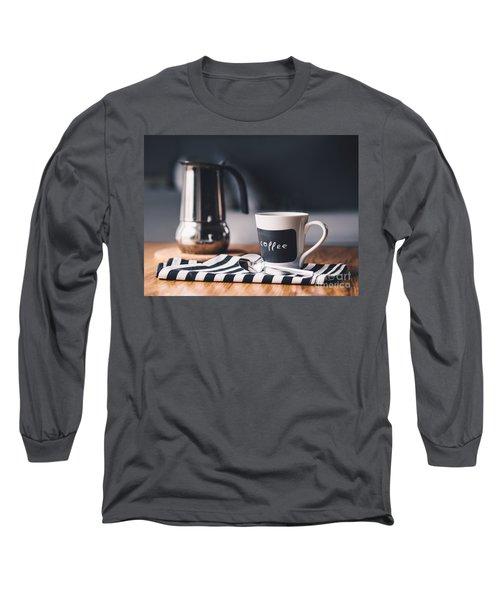 Coffee #5  Long Sleeve T-Shirt