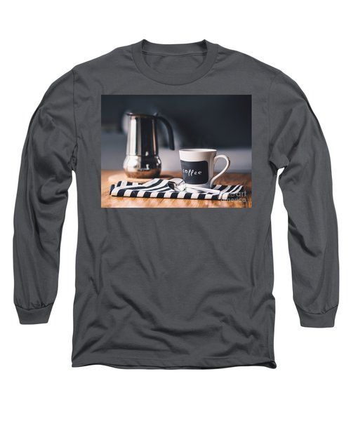 Coffee #5  Long Sleeve T-Shirt