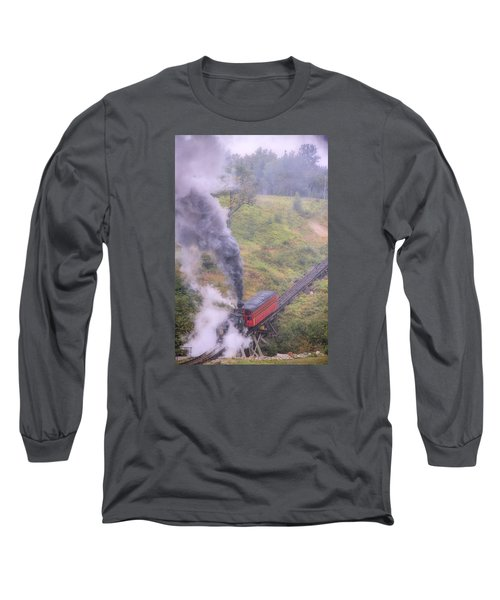 Cog Railway Car Long Sleeve T-Shirt