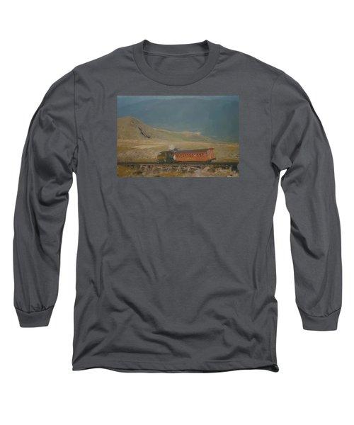 Cog Railway Mount Washington Long Sleeve T-Shirt