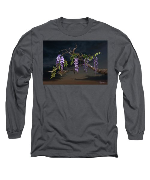 Cogan's Wisteria Tree Long Sleeve T-Shirt