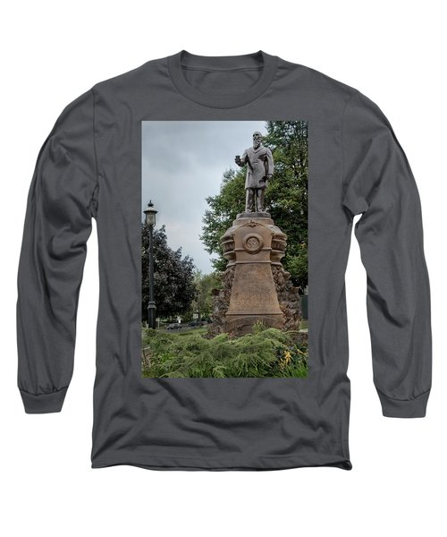 Cogswell Fountain Rockville Vernon Connecticut Long Sleeve T-Shirt