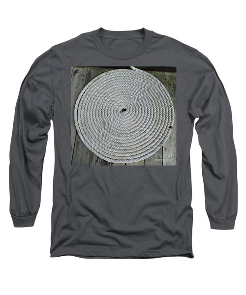 Coiled By D Hackett Long Sleeve T-Shirt
