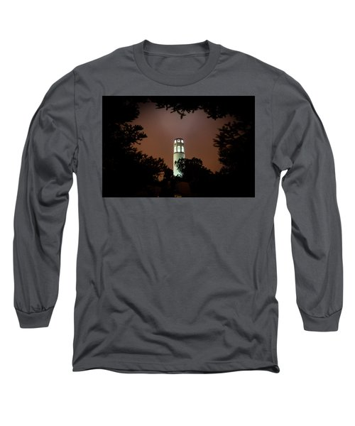 Coit Tower Through The Trees Long Sleeve T-Shirt