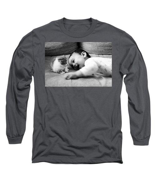 Cokitten Long Sleeve T-Shirt by Jez C Self
