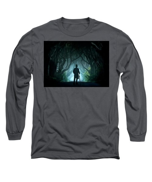 Cold Morning In Dark Hedges Long Sleeve T-Shirt