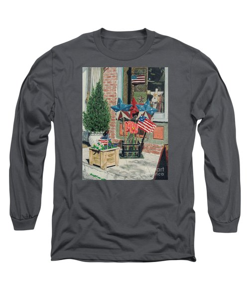 Cold Spring Window Left Long Sleeve T-Shirt