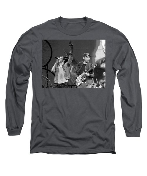 Coldplay 14 Long Sleeve T-Shirt by Rafa Rivas