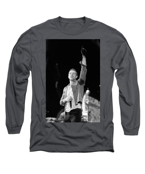 Coldplay 16 Long Sleeve T-Shirt by Rafa Rivas