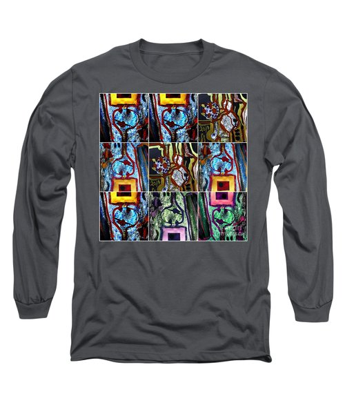 Collage-1 Long Sleeve T-Shirt