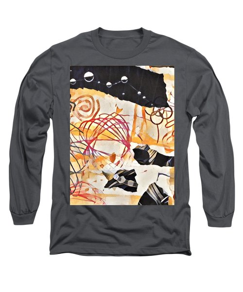Collage Details Long Sleeve T-Shirt
